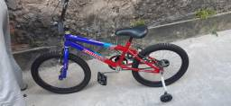 Bicicleta Zummi do Homem aranha NOVA