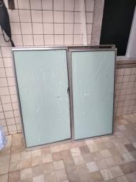 Grade de Ferro pra janela e janela de alumínio