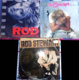 3 LPs Rod Stewart
