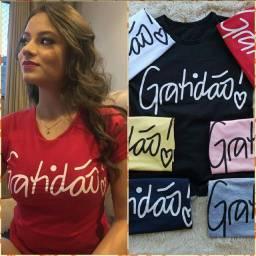 Kit 10 Blusas T-shirt ATACADO revenda