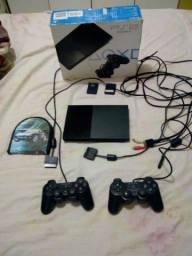Playstation bem novo com a caixa