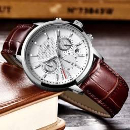 Relógio Lige casual fundo branco importado e original