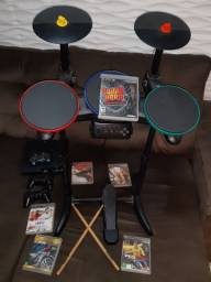 Bateria/Guitarra Guitar Hero + PlayStation 3 Ps3  + Jogos