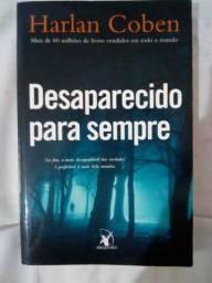 """Livro """"Desaparecido para sempre"""" em bom estado"""