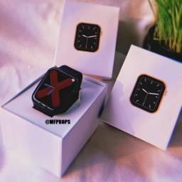 Smartwatch IWO W46 - Tela infinita + Watchface personalizável 2020