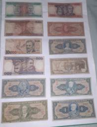 Cédulas brasileiras antigas para colecionadores