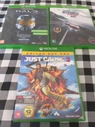 3 jogos originais xbox one