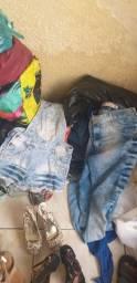 Lote de roupas  adulto  e infantis