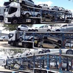 Transportadora de veículos carro e moto usados via carreta cegonha