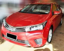 Toyota Corolla GLI, 2017, Vermelho