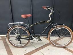 Bicicleta Bike Nirve Classic alumínio 7 marchas