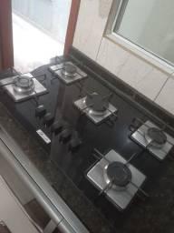 Vendo cooktop 5 bocas Built