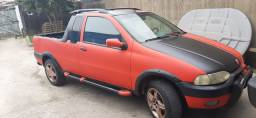 Carro  Fiat  strada  ano  2000  1.6