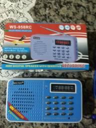 Rádio FM, MP3, USB