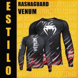 Camisa compressão rashguard