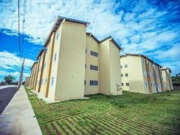 Alugo apartamento 2 quartos no Residencial Itaperuna. Condomínio, água e IPTU inclusos