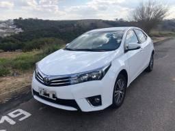 Toyota Corolla Gli 2017 Branco Unico Dono