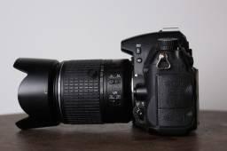 Nikon D7000 C/ Lente Dx 18/55 Mm