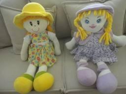 Linda boneca boneco de pano marca Zaniboni