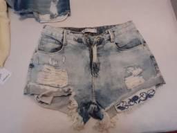 Shorts jeans..saia Pollo..calça Forever 21