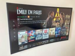 TV Samsung LED Curva 40 Polegadas + Suporte de Parede Vesa