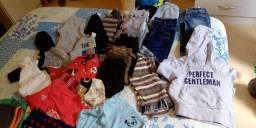 Lote de roupas infantil de menino