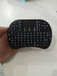 Mini teclado com mouse touchpad