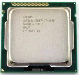 Processador Intel Core I7 2600 3.40ghz Lga 1155 + 2 Memoria ddr3 1333 4GB cada