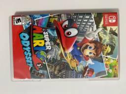 Jogo - Nintendo Switch - Super Mario Odssey