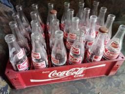 Garrafas Coca cola anos 90