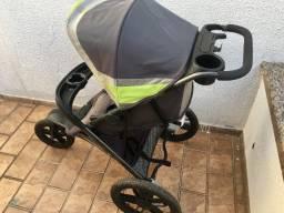 Carrinho para Corridas/Caminhadas importado, incentive seus filhos correndo junto com eles