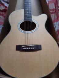 Vendo violão semi novo