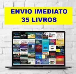 Coleção de 35 Livros Trader Mercado Financeiro