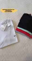Camisetas e bermudas de verão