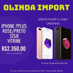 iPhone 7 plus 32gb Consultar cores vitrine (Olindaimport)