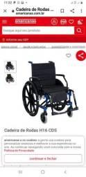 Título do anúncio: Cadeira de Rodas CDS H16 Para pessoas obesas