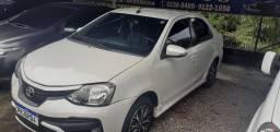 Toyota etios 2018 super zero com 40000 km 49000 lig *
