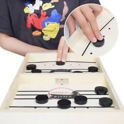 Sling Puck Board Foosball Winner - Jogo Tiktok Tabuleiro - Jogo de madeira