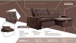 Título do anúncio: Sofa Retrátil C/Pillow 20cm 2,30 - Frete Grátis todo o ES- Até 10x sem juros