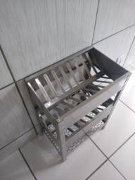 Escorredor de prato inox pra cozinha industrial feito sob medida