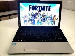 notebook gamer acer i5 novo impecável