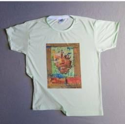 Título do anúncio: Camisa Exclusiva Joyce Nunes + Arte Peça única