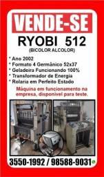Título do anúncio: Maquinario Gráfico - Ryobi 512 e Guilhotina Wohlenberg