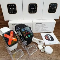Smartwatch Relógio Série 6 Esportivo Iwo Ip68 Carreg por Indução Tela Full infinita