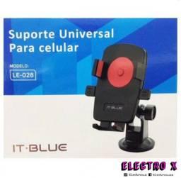 SUPORTE VEICULAR P/ CELULAR - IT-BLUE- LE-028