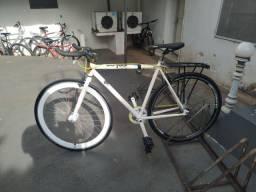 Bicicleta Color Colecionador Barra Fixa Aro 29