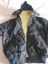 jaqueta naylon  forrada