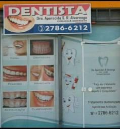 Consultório odontológica em funcionamento