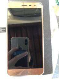 Zenfone 3 64gb dourado 4gb ram usado (ZE552KL)