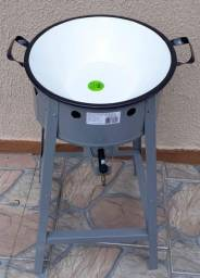 Fritadeira de tacho a gás alta pressão Nova